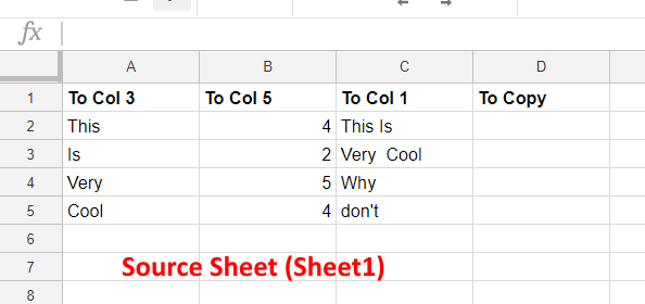 SourceSheet - Google Sheets
