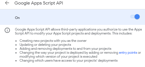 Working with Google Apps Script in Visual Studio Code using