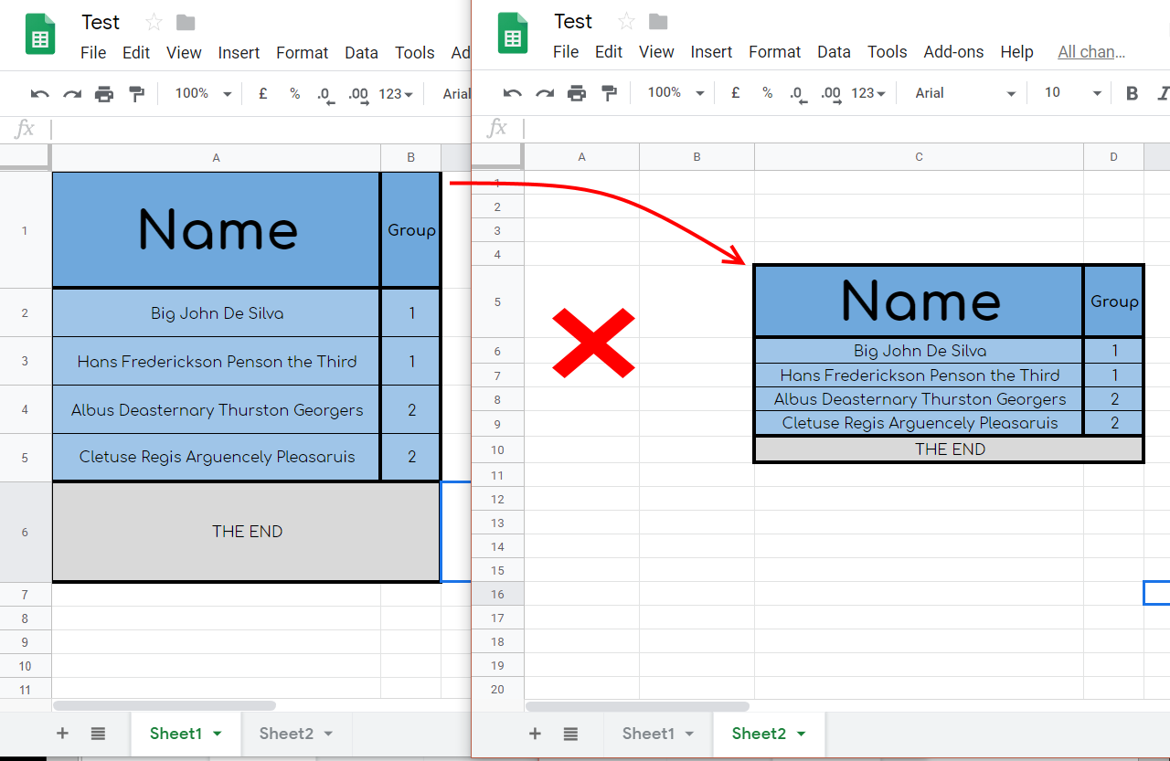Google Apps Script: Maintain Row Heights When Copying and